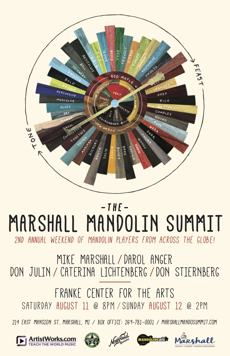 2018 Marshall Mandolin Summit poster