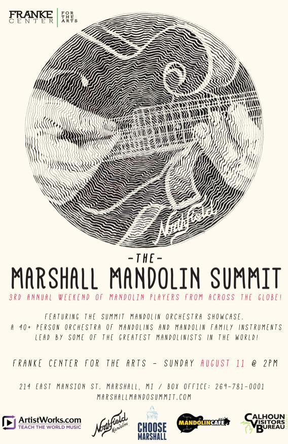 Marshall Mando Summit 2019 concert poster